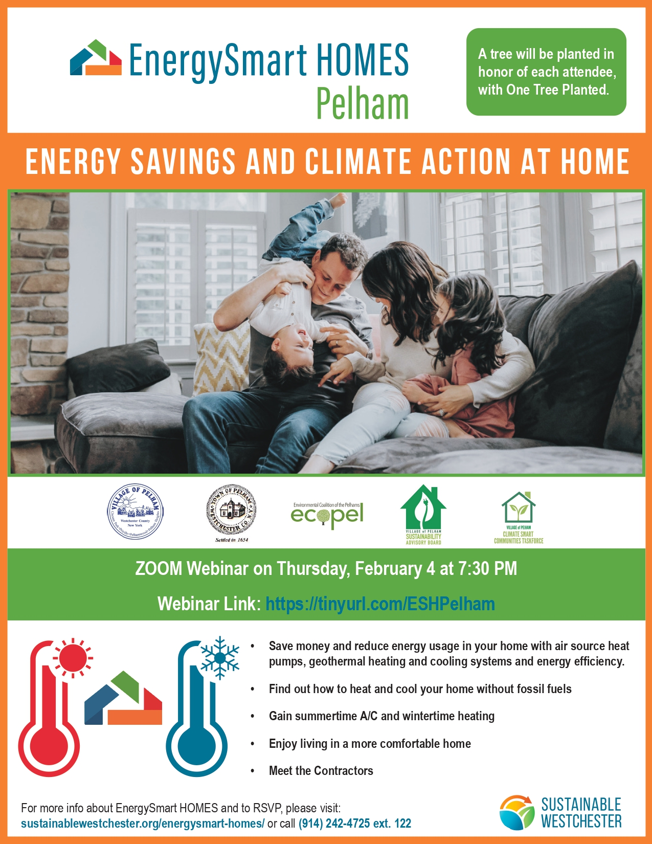 High Heating Bills? Join the EnergySmart Homes Pelham Webinar